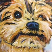 Pup Portraits by Art Growden