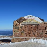 At The Top Of Pikes Peak, Colorado