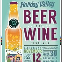 Holiday Valley Beer & Wine Festival