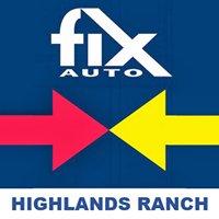Fix Auto Highlands Ranch