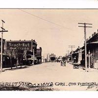 Oakland Oregon Historic District