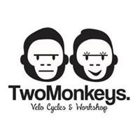 Two Monkeys Cycling Penshurst