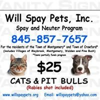 Will Spay Pets, Inc.