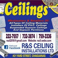 R&S Ceiling Installations Limited