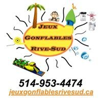 Jeux gonflables Rive-Sud; inflatable games