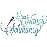 Miss Nancy Schmancy Sewing Lessons