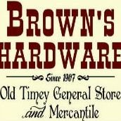 Brown's Hardware