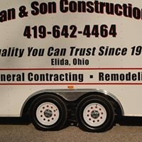 Layman & Son Construction LLC.
