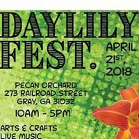 Gray Daylily Festival