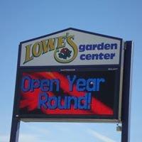 Lowe's Garden Center