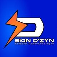 Sign D'zyn of Minot