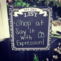 Say It w/ Expression
