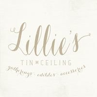 Lillie's Tin Ceiling