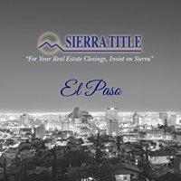 Sierra Title Company of El Paso