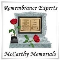 Jim Mccarthy Memorials and headstones