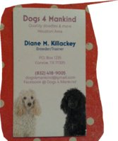 Dogs 4 ManKind  Quality Goldendoodles