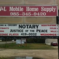 V & L Mobile Home Supply