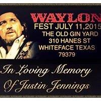 Waylonfest Whiteface tx