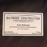 Biltmore Construction and Inspection Services