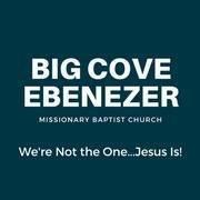 Big Cove Ebenezer Missionary Baptist Church