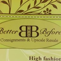 Better Than Before Consignments
