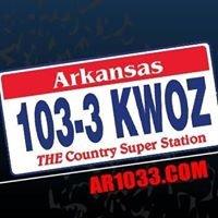 Arkansas 1033 KWOZ