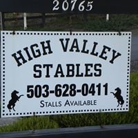 High Valley Stables