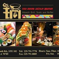 Foo Chow Asian Buffet Hibachi Grill and Sushi