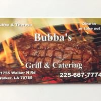 Bubba's Grill & Catering
