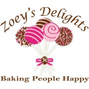 "Zoey's Delights,  ""Baking People Happy"""