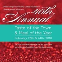 COCC Foundation's Taste of the Town & Meal of the Year