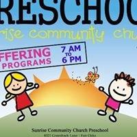 Sunrise Community Church Preschool