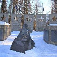 Alaska Veterans Memorial in Denali State Park