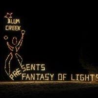 Alum Creek Fantasy of Light's Santa House