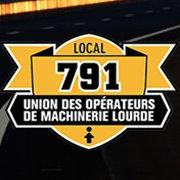Opérateurs de machinerie lourde, Local 791