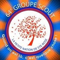 La petite nation, scouts de la 64e Sainte-Rose