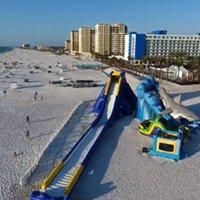 Clearwater Beach Water Slide - Big Event Slides