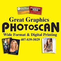 Great Graphics Photoscan