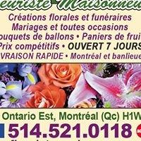 Fleuriste Maisonneuve
