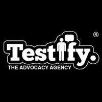 Testify.