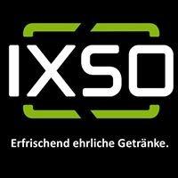 IXSO Erfrischend ehrliche Getränke.