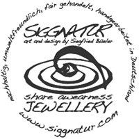 Siggnatur Jewellery -art and design by Siegfried Büeler