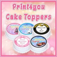 Print4you Cake Toppers