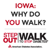 Step Out Walk to Stop Diabetes - Urbandale, IA