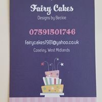 Fairy Cakes, Designs by Beckie