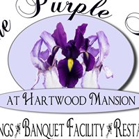 The Purple Iris at Hartwood Mansion