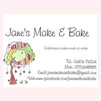 Jane's 'Make & Bake' - Celebration Cakes and Children's Cupcake Parties