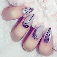 Glazed Nails and Beauty
