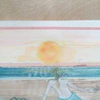 J Demeri Watercolor per day