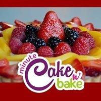 Minute Cake n' Bake